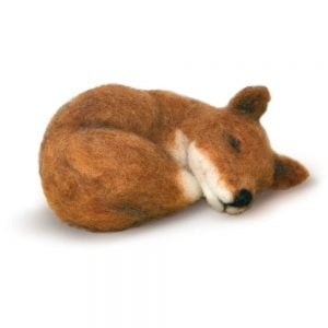 Crafty Kit Company – Sleepy Fox Needle Felting Kit