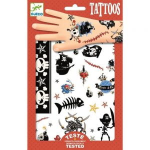 Djeco Tattoos Pirate