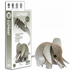 Eugy Elephant 3D Craft Kit