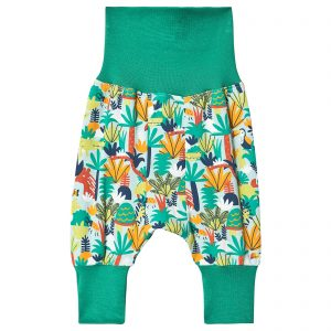 Frugi Jungle Rumble Parsnip Pants 3-6m