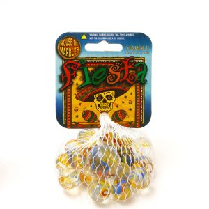 Fiesta Marbles in Net Bag