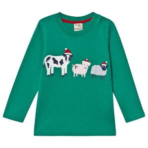 Frugi Farm Friends Long Sleeved Top