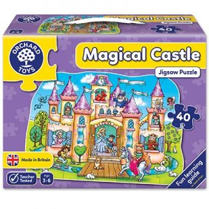 Orchard Toys Magical Castle Jigsaw Puzzle 40pcs