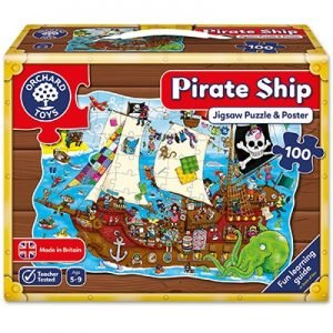 Orchard Toys Pirate Ship Jigsaw Puzzle 100pcs