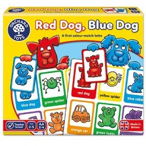 Orchard Toys Red Dog, Blue Dog Game