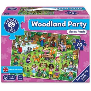 Orchard Toys Woodland Party Jigsaw Puzzle 70pcs