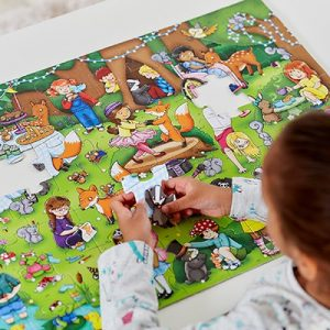 Orchard Toys Woodland Party Jigsaw Puzzle 70pcs