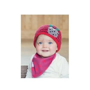 Blade and Rose Christmas Pudding Hat 6-12 months