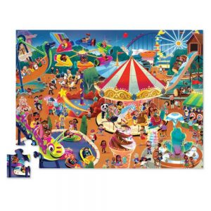 Crocodile Creek Day At The Fair 48pc Puzzle
