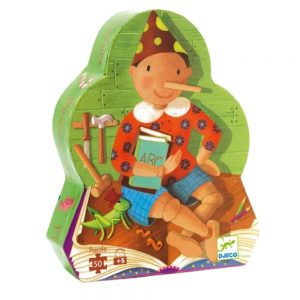 Djeco Pinocchio Jigsaw Puzzle 50pc