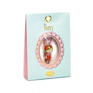 Djeco Tinyly Charm Necklace Berry