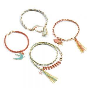 Djeco Kumihimo Bracelet Kit – Celeste