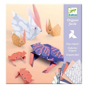 Djeco Easy Origami Animal Families