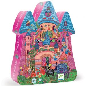 Djeco Fairy Castle Jigsaw Puzzle 54 piece