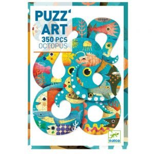 Djeco Puzz' Art Octopus 350pc Jigsaw Puzzle
