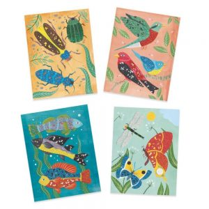Djeco Glass Bead Pictures – Zoology