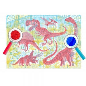 Londji Discover the Dinosaurs 200pc Puzzle with Magic Glasses