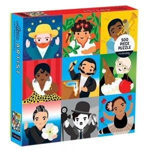 Mudpuppy Little Artist Family Jigsaw Puzzle 500pc