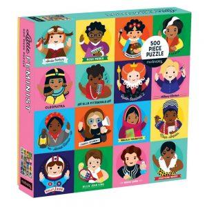 Mudpuppy Little Feminist Family Jigsaw Puzzle 500pc