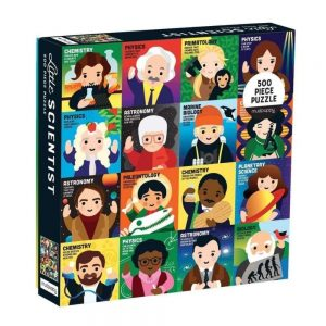 Mudpuppy Little Scientist Family Jigsaw Puzzle 500pc