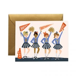 Rifle Paper Co Cheer Birthday Card