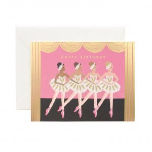 Rifle Paper Co Ballet Birthday Card
