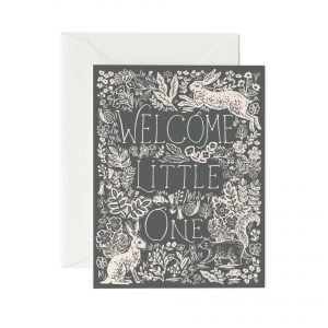 Rifle Paper Co Fable New Baby Card