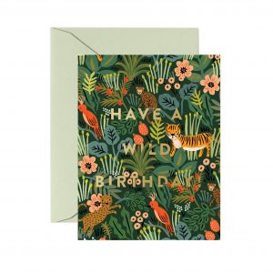 Rifle Paper Co Wild Birthday Card