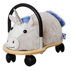 Wheely Bug Plush Unicorn Ride On