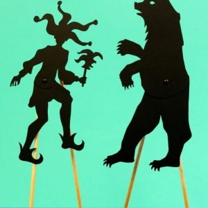 Articulated Shadow Puppets – Joker and Bear