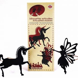 Articulated Shadow Puppets – Unicorn & Fairy
