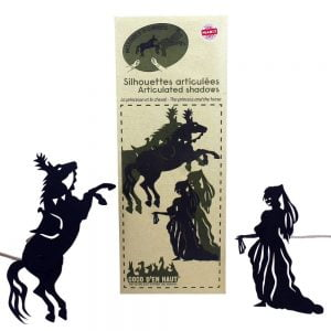 Articulated Shadow Puppets – Princess and Horse
