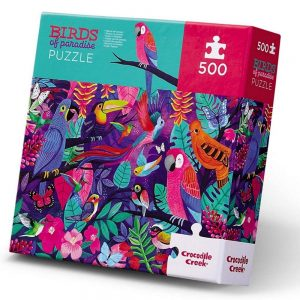 Crocodile Creek Birds Of Paradise Family Jigsaw Puzzle 500pc