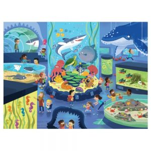 Crocodile Creek Day At The Aquarium 48pc Puzzle