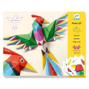 Djeco 3D Poster Amazonie