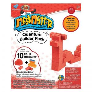 Mad Mattr Quantum Builder Pack – Red 10oz with Ultimate Brickmaker