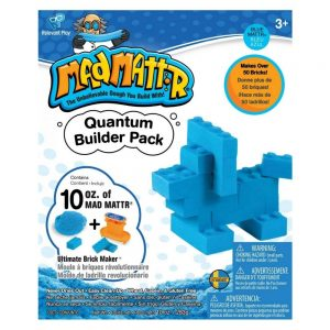 Mad Mattr Quantum Builder Pack – Blue 10oz with Ultimate Brickmaker