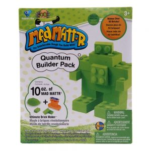 Mad Mattr Quantum Builder Pack – Green 10oz with Ultimate Brickmaker