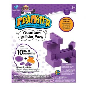 Mad Mattr Quantum Builder Pack – Purple 10oz with Ultimate Brickmaker
