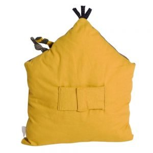 Moulin Roty Les Moustaches Activity Cushion (Mustard)