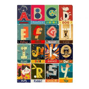 Paul Thurlby's Alphabet Book With Wall Frieze
