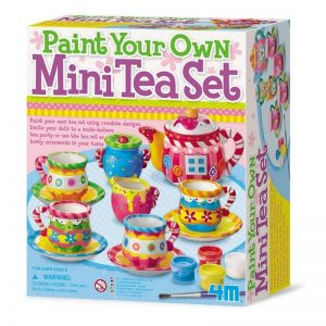 4M Paint Your Own Tea Set