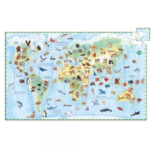 Djeco World's Animals 100pc Jigsaw Puzzle