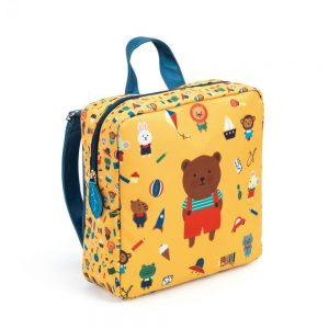 Djeco Bear Nursery School Bag