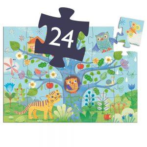Djeco Hello Owl Jigsaw Puzzle 24pc