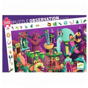 Djeco In A Video Game 200pc Observation Jigsaw Puzzle