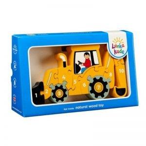 Lanka Kade Yellow Digger Jigsaw Puzzle 1-10