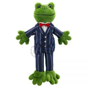 The Puppet Company Dressed Frog Puppet