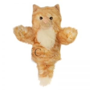 The Puppet Company Short Sleeved Ginger Cat