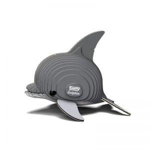 Eugy Dolphin 3D Craft Kit